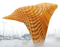 WRITING-- BAM's Ballistic Cloud on designboom.com