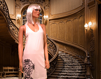 """The House Of Bathory"" Screen-Printed Bo Tank Dresses"