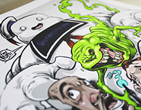 THE GHOSTBUSTERS PRINT