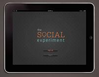 The Social Experiment iPad App