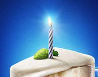 Efes Birthday. Beer cake.