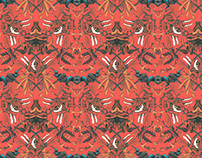 Wallpaper pattern design 14 Edouard Artus ©2012