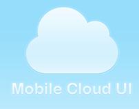 Mobile Cloud UI