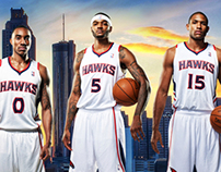 2013 Atlanta Hawks Wallpaper
