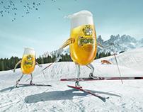 FORST beer • print campaign (ski)