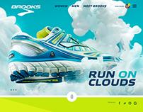 Re-design of Brooksrunning.com