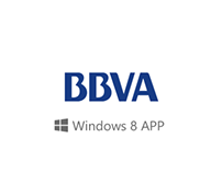 BBVA windows 8 App