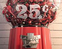 "TABASCO ""Sweet & Spicy"" vending machine"