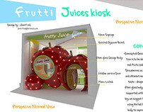 Juices Kiosk Conceptual Design