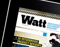 iPad magazine Conrad - Logo & Cover design
