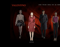 Redesigning the Valentino Website