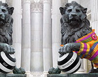PARLIAMENT LIONS | Action&Urban art
