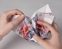 """Secunda glue DM """"Origami Vase"""""""