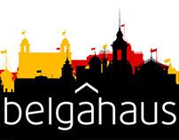 Belgahaus. Logo & website