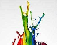 Art Work: Paint Splash Mask