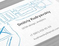 ui-designer business card