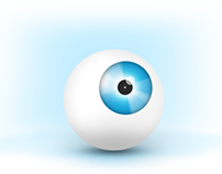 Eye Balls Illustration