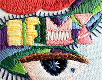 Embroidery - You are the apple of my eyes