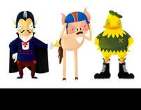 Children's book character design