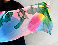 Blooming Marker Scarf