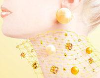 """KARA EXPO"" Paris jewellery exhibition poster"