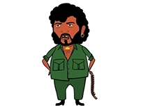 Sholay : Character Illustrations