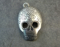 spoons skulls pendants