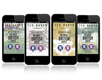 TED BAKER- 'The Great British Outfit' App Design