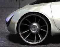 Vertical Concept car