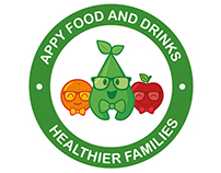 Appy Food and Drinks Branding