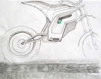 electric dirt motorbike               /design concept