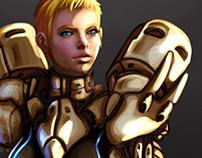 Character Design MMRPG Job System