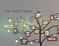 Family Tree Wall Gallery