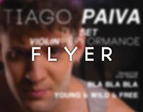 FREE Flyer DJ Tiago Paiva