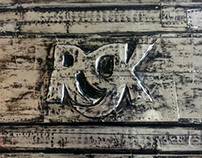 Metal Art - RGK Plaque