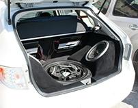 Subaru WRX Custom Sound System