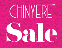 Chinyere F/W 12 Sale Artwork