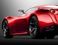 Ferrari concept 2008_new renders