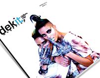 """Dekit Magazine's 2nd Issue """"IDENTITY"""" w/ Coco & Breezy"""