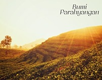 Bumi Parahyangan Promotional Poster and Brochure