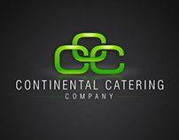 Continental Catering Co. Branding