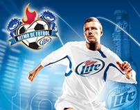 Miller Light: Ritmo de Fútbol/Rhythm of Soccer Concept