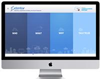 Website redesign for Extentor