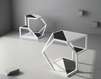ASTEROID TABLE by studio PARCHITECTS