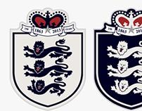 England 150th Anniversary Nike kit