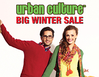 Urban Culture 'Big Winter Sale' '13 Campaign