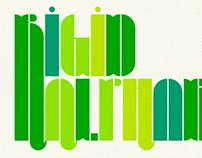 Rigid Typeface (Marta Alimbau)