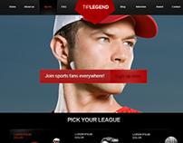 Tip Legend   Sports website