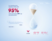 NIVEA SOS landing page