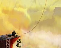 Cloud Fisherman